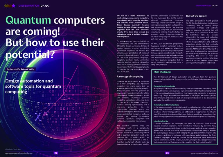 Quantum computers are coming! But how to use their potential?