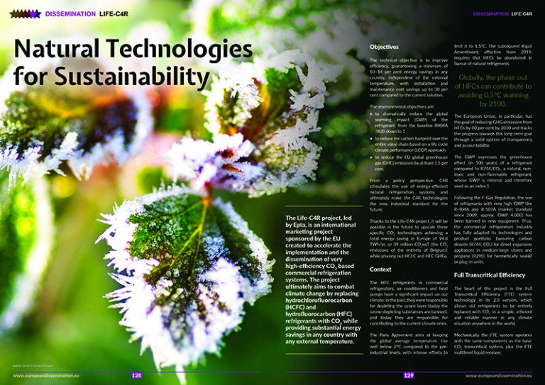 Natural technologies for sustainability