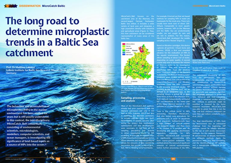 The long road to determine microplastic trends in a Baltic Sea catchment