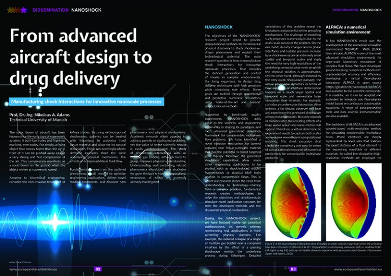 From advanced aircraft design to drug delivery