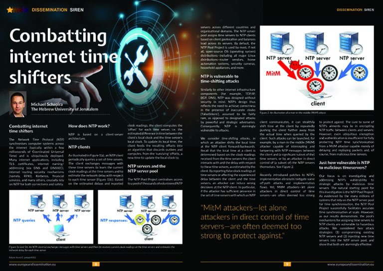 Combatting internet time shifters