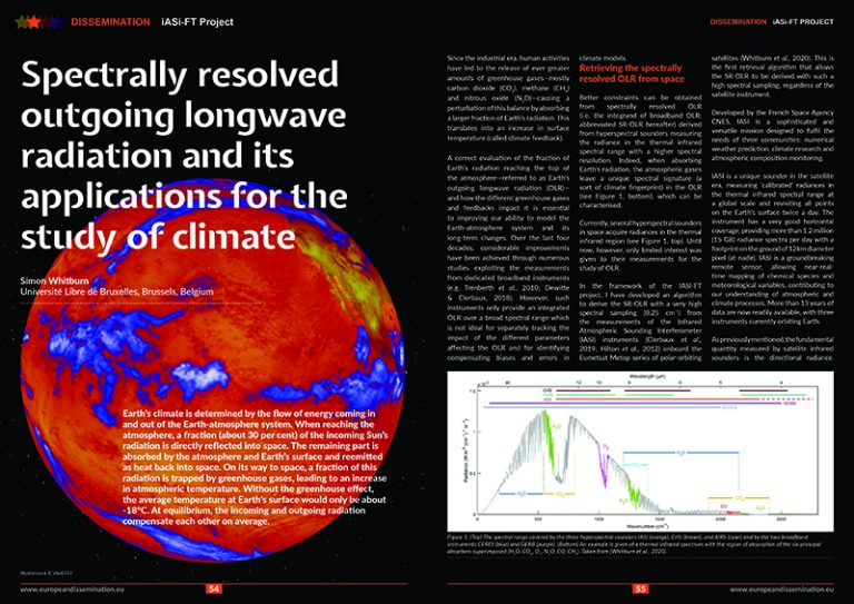 Spectrally resolved outgoing longwave radiation and its applications for the study of climate